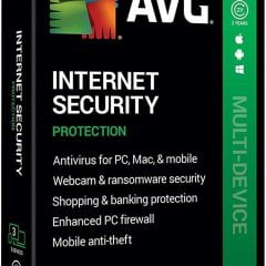 AVG Internet Security 2021 10 Devices 2 Years Global