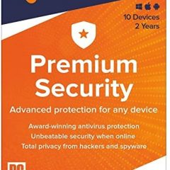Avast Premium Security 2021 10 Devices 2 Years Global