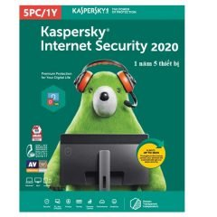 Kaspersky Internet Security 2021 1 year 5 devices key Global