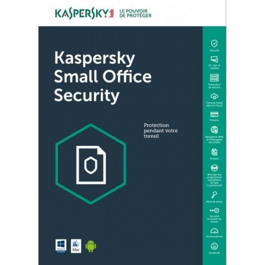 Kaspersky Small Office Security 20 PCs + 20 Mobiles + 2 Servers 1 Year