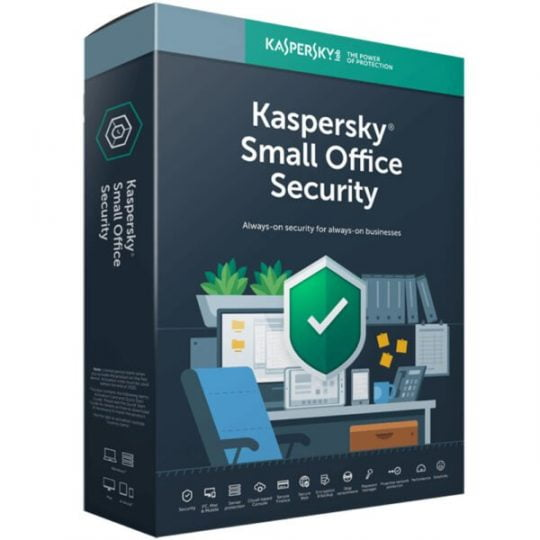 Kaspersky Small Office Security 25 PCs + 25 Mobiles + 3 Servers 1 Year