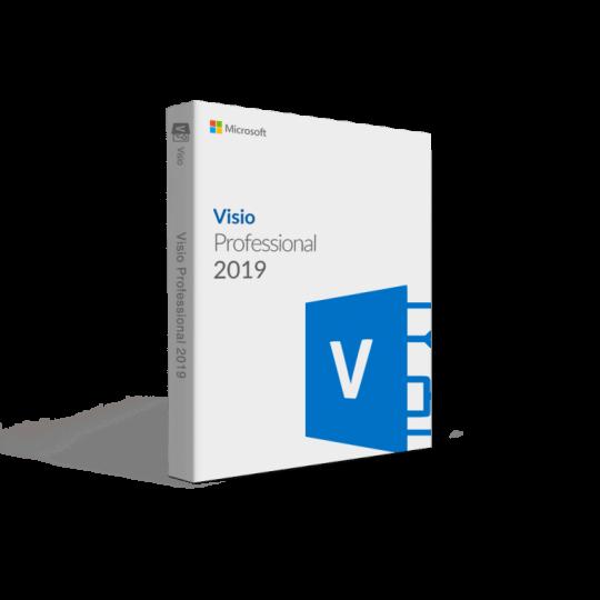 Microsoft Visio 2019 Professional Key Global