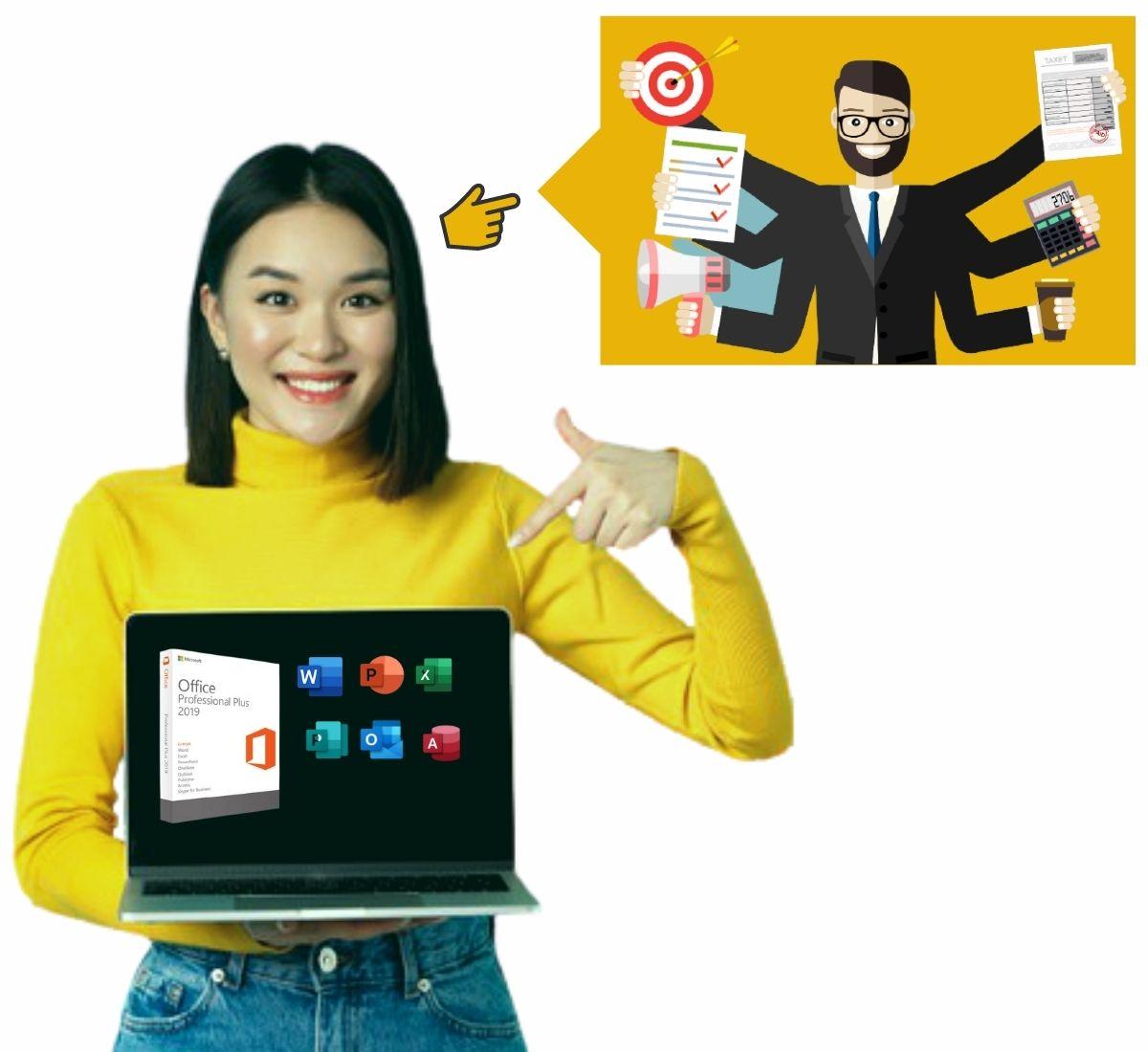 improvements of the Key Microsoft Office 2019 Professional Plus
