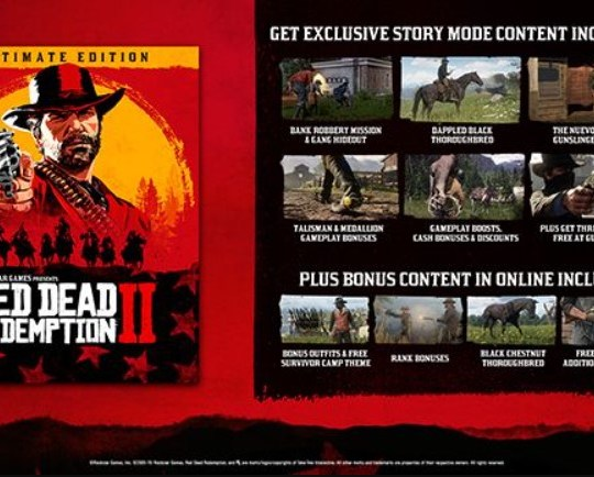 Red Dead Redemption 2: Ultimate Edition Steam Gift