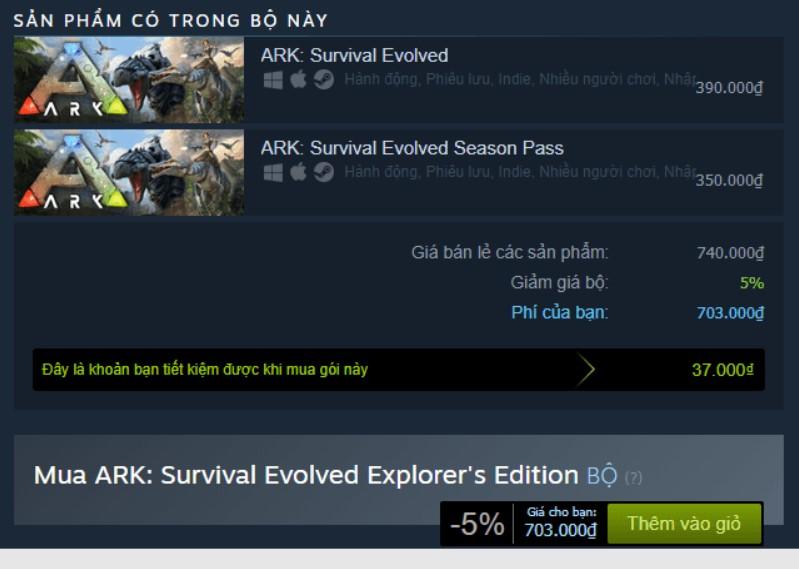 ARK: Survival Evolved Explorer's Edition Steam Key