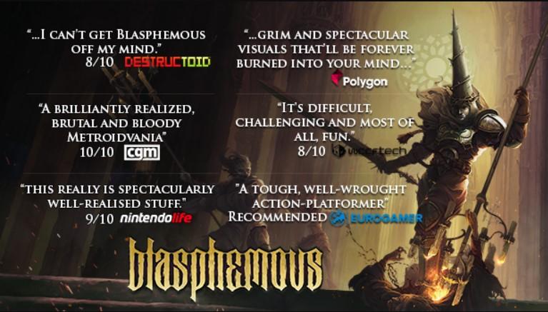 Blasphemous Steam Key