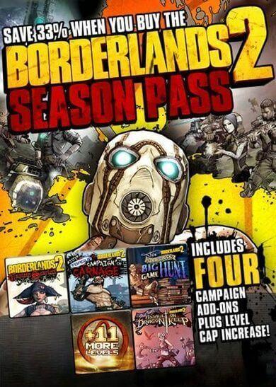 Borderlands 2 Season Pass (DLC) Steam Key