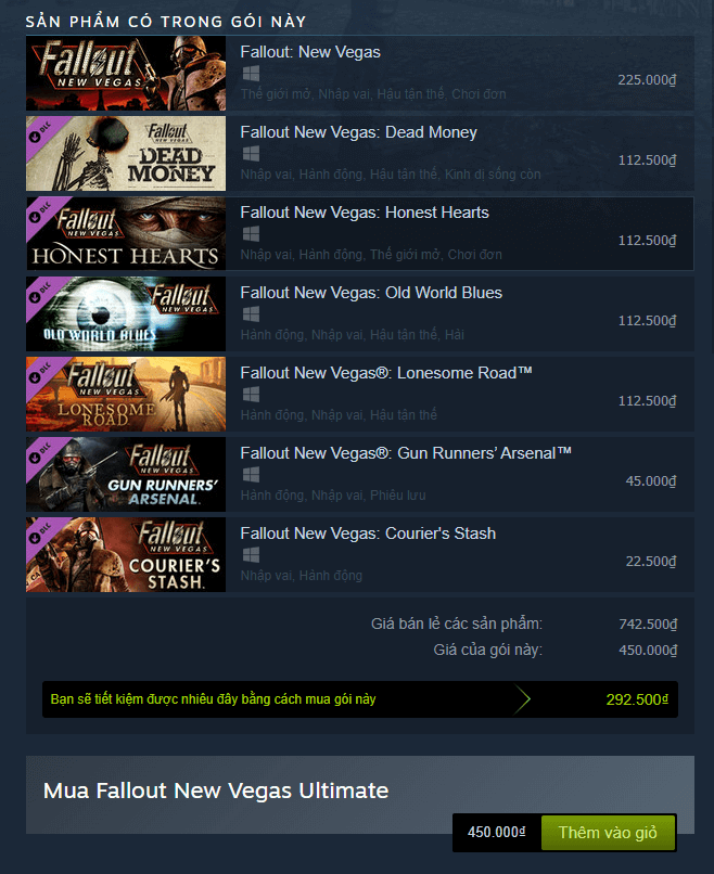 Fallout New Vegas Ultimate Edition Steam 1
