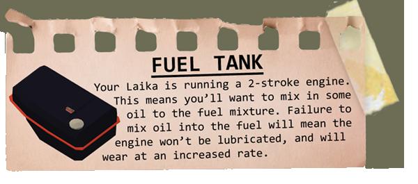Fueltank description