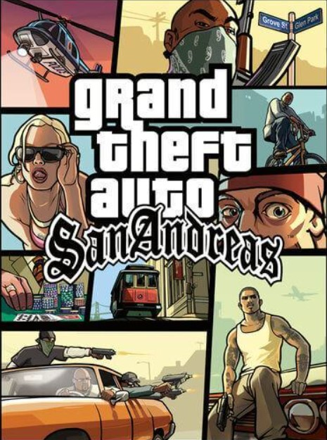 Grand Theft Auto San Andreas Steam Key