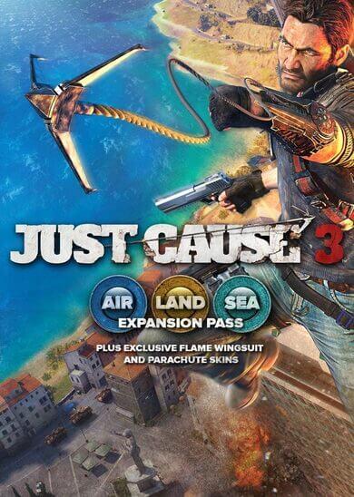 Just Cause 3 DLC: Air, Land & Sea Expansion Pass (DLC) Steam Key