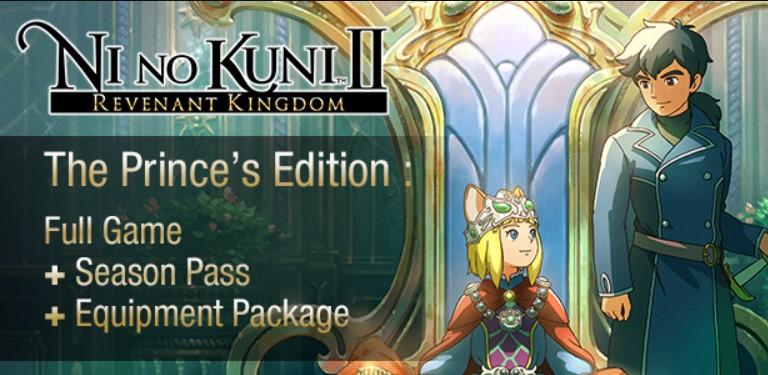 Ni No Kuni II: Revenant Kingdom The Prince's Edition Steam Key