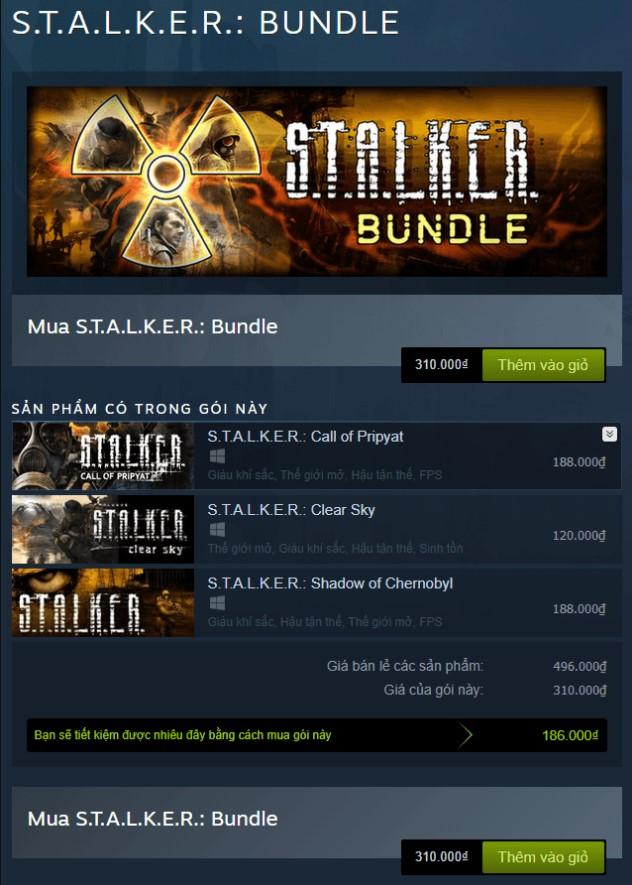 S.T.A.L.K.E.R.: Bundle Steam Key