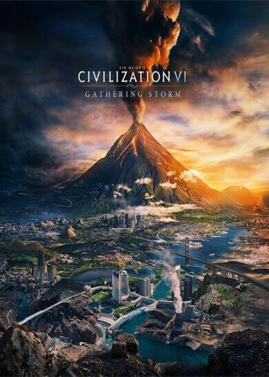 Sid Meier's Civilization VI: Gathering Storm (DLC) Steam Key