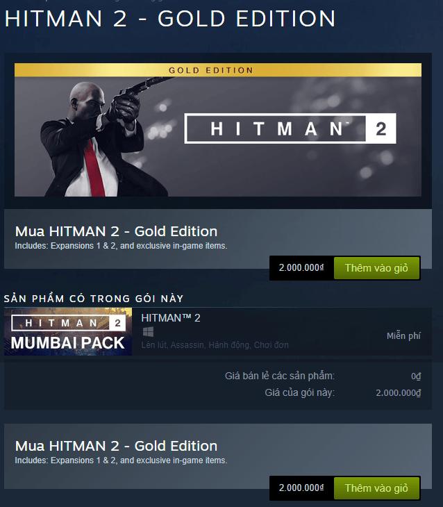 hitman 2 gold edition 1