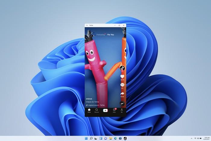 Windows 11 tích hợp các ứng dụng Android